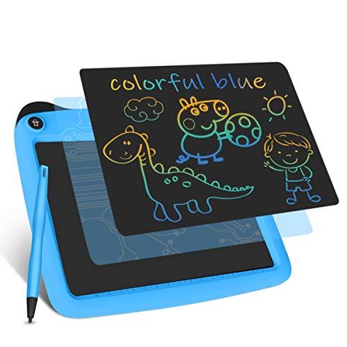 Enotepad Gráfico Electrónico Portátil, eWriter Digital Dibujo Colorido 9 Pulgadas LCD Doodle Pad Tableta Gráfica LCD para Niños Azul