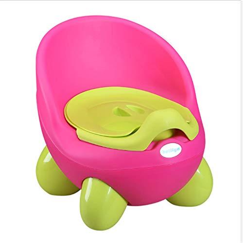 Vasino per bambini Vasino per bambini Vasino per bambini Facile da pulire Vasino interno facile da pulire con coperchio Schienale alto Confortevole Design ergonomico Piedi antiscivolo per vasino,Ared