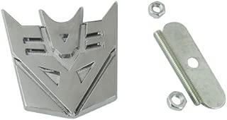 Auto Car Metal Hood Transformers Decepticon Front Grille Grill Badge Emblem