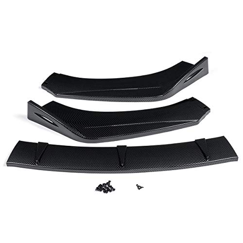 SHENGYUAN 3X Frente Coche Universal Lip Bumper Splitter difusor Spoiler for Mitsubishi Lancer Evolución for Eclipse for Toyota Corolla Camry