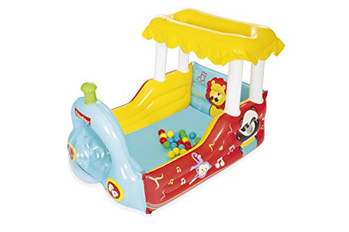 Bestway Fisher-Price Inflatable Ball Pit | Fun Train Theme | Indoor &...