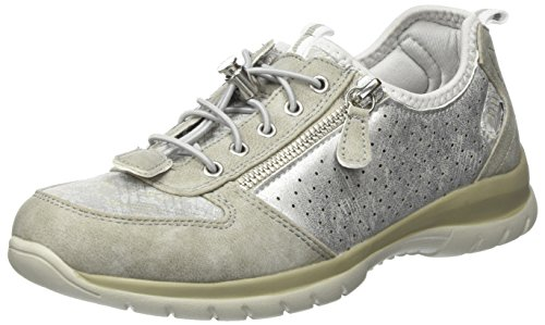 Supremo Damen 4828203 Slipper Beige (Mud-Silver) 38 EU