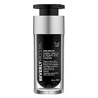 Beverly Hills Mens Eye Cream for Dark Circles, Puffy Eyes, Wrinkles and Crows Feet by Beverly Hills