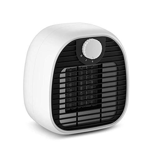 HDCDKKOU Electric Heater, 1000W PTC Ceramic Space Heater Portable Fan Heaters 2S Fast Heating Thermostatic Personal, Overheat Tip-over Protection 2 Mode for Home/Office/Bedroom