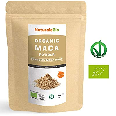 Organic Maca Powder [ Gelatinised ] 900g | 100% Peruvian, Natural and Pure, extract from Organic Maca Root. Superfood rich in amino acids, fibre, vitamins and minerals | Vegetarian and Vegan friendly.