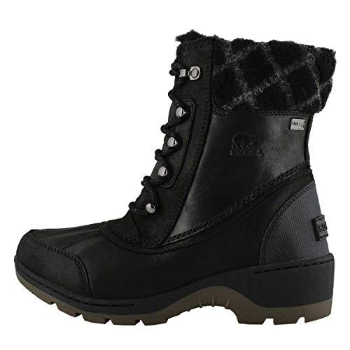 Sorel Damen Stiefel, Whistler Mid 2, Schwarz (Black/Natural), Größe: 41