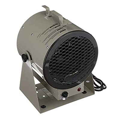 TPI Corporation HF684TC Fan Forced Portable Heater, 4000/3000W, 240/208V