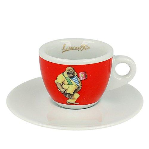 Lucaffe Espressotasse - Classic - rot