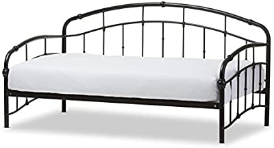 Hawthorne Collections Metal Daybed in Antique Bronze