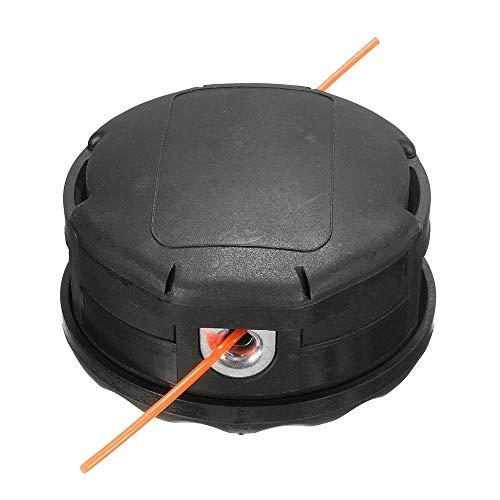 Cabezal de corte de recortadora de hilo Cortador de hierba Accesorios Bump RSS cortabordes Head Compatible con Echo velocidad-Feed 400 SRM-225 SRM-230 SRM-210 Cabezales de línea de desbrozadoras
