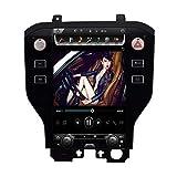Android 10.0 Car Stereo Double DIN para Ford Mustang 2015-2019 Navegación GPS Unidad Principal de 11.8 Pulgadas Reproductor Multimedia MP5 Receptor de Video y Radio con 4G WiFi DSP Carplay, 4 + 64GB