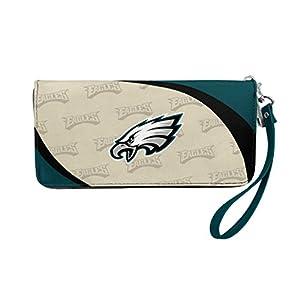 NFL Philadelphia Eagles Curve Zip Organizer Wallet