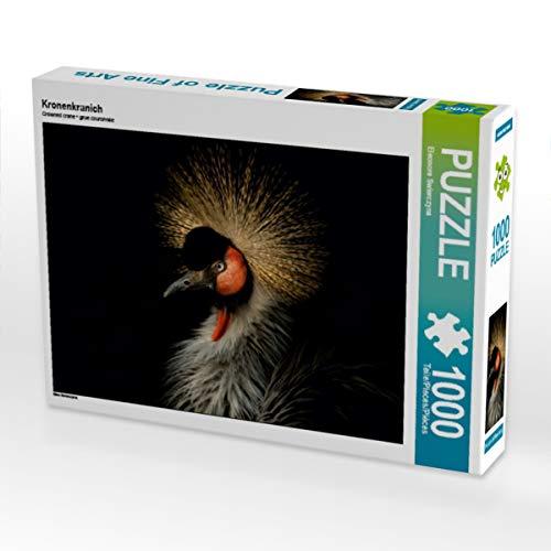 CALVENDO Puzzle Kronenkranich 1000 Teile Lege-Größe 64 x 48 cm Foto-Puzzle Bild von Eleonore Swierczyna