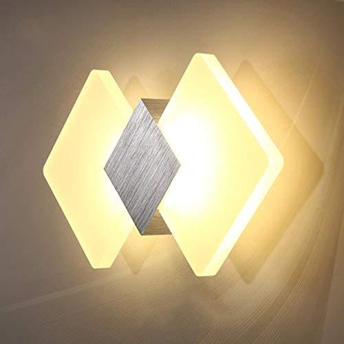 YLCJ wandlamp, hoofddecoratie mode-Ideeën woonkamer slaapkamer balkon leeslamp hoofdbord trap Noord-Europa LED -B 38 * 20cm