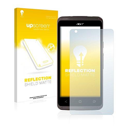 upscreen Entspiegelungs-Schutzfolie kompatibel mit Acer Liquid Z410 Plus – Anti-Reflex Bildschirmschutz-Folie Matt