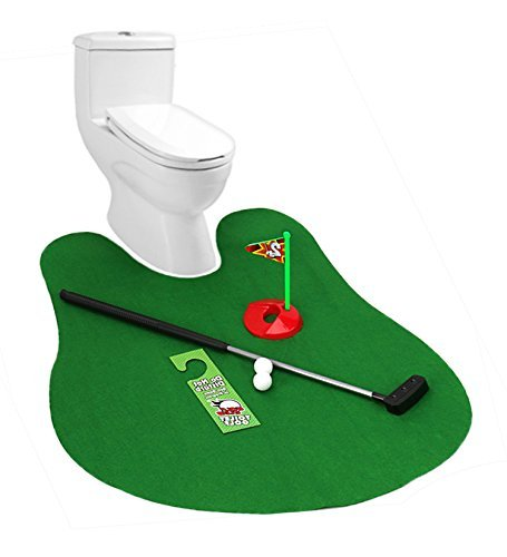 Hemore - Set de mini golf para baño