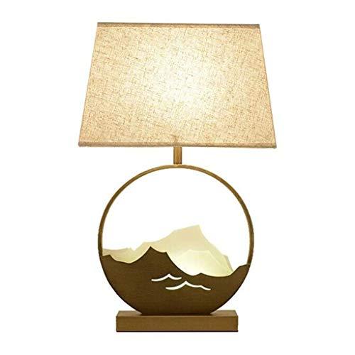 WYBFZTT-188 Dormitorio lámpara de Mesa, lámpara de cabecera Simple Moderna Sala de Mesa de Estudio de la lámpara de la lámpara Retro Decorativo