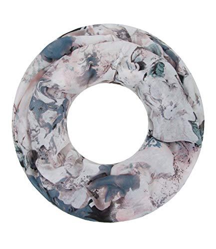 Majea NEUE Saison Damen Loop Schal viele Farben Muster Schlauchschal Halstuch in aktuellen...