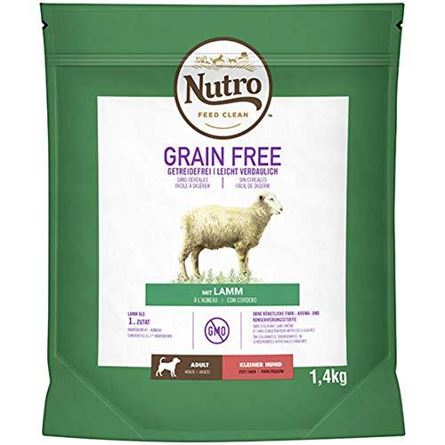 Nutro Grain free adult mini cordero 1,4 kg