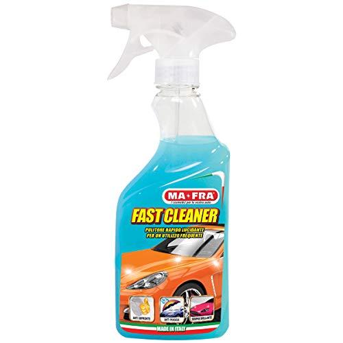 Mafra, Fast Cleaner, snelreiniger, gepolijst en zorgt voor wrijvingsvrijheid, verwijdert oppervlakkig vuil en vogelpoep, met anti-regeneffect en anti-afdruk effect, hoeveelheid 500 ml