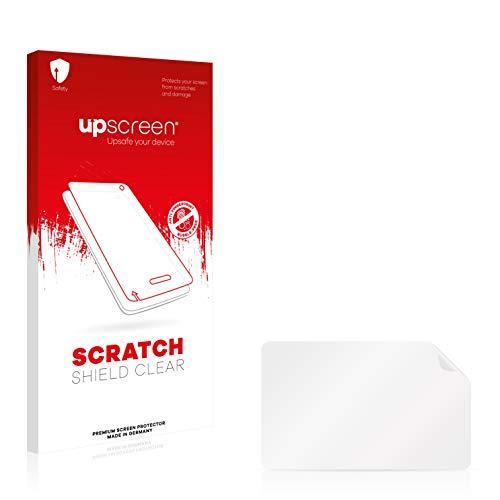 upscreen Schutzfolie kompatibel mit MP Man MPQC124i – Kristallklar, Kratzschutz, Anti-Fingerprint