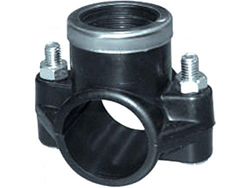 PP Anbohrschelle mit Verstärkung PE Rohr Ø32x3/4