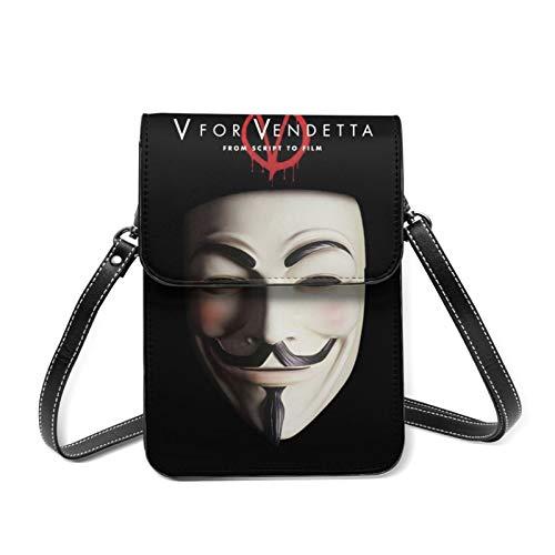 V for Vendetta Damen Fashion Love Mini Soft Simply Cross-Body Bag