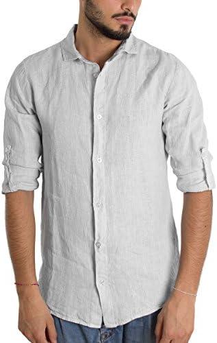 Giosal Outfit - Conjunto de Camisa de Lino para Hombre, Color ...