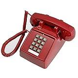 YDS SHOP Simple Bouton Américain Antique Téléphone Antique Antique Vintage...