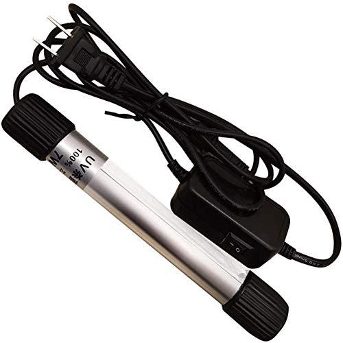 Ultraviolet Disinfection Lamp Lámpara de esterilización UV Antivirus/Bacterias/Gérmenes/Molde de Mano Lámpara de desinfección integrada portátil para el Coche Ropa de Cama para el hogar Juguete,9w
