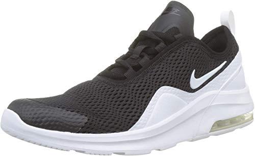 NIKE Air MAX Motion 2 (GS), Running Shoe, Black White, 36 EU