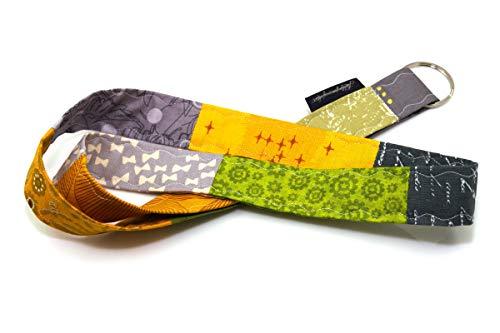 Lieblingsmanufaktur Band für Schlüssel, Werksausweis & Co. - viele individuelle Varianten, jedes Schlüsselband ein Einzelstück Grün