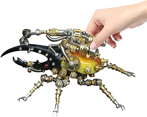 NA ZT Rompecabezas de Metal 3D for Adultos y Adolescentes, 417pcs Metal 3D Insecto Puzzle Kit de Modelo