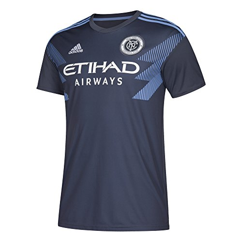 MLS NYCFC 7417ASFPAZNNY2 Men's Replica Jersey, Large, Utility Blue