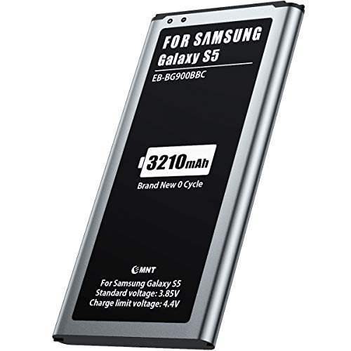 3210mAh Batteria per Samsung S5, MNT Batteria di ricambio Sostituzione Capacità migliorata, Ultima versione, tecnologia avanzata e materiali di alta qualità (SENZA NFC)