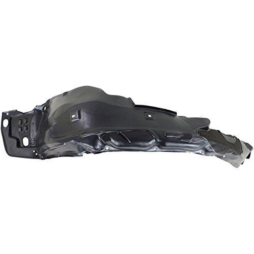 Evan-Fischer Splash Shield for Honda Civic 12-15 FRONT w/Insulation Foam Japan Built Sedan/Hybrid Left Side