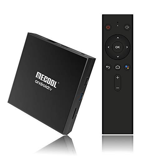 Gamogo MECOOL KM9PRO CLASSIC Smart Android 9.0 TV Box lettore multimediale UHD 4K Amlogic S905X2 Telecomando vocale da 2 GB / 16 GB Telecomando professionale certificato Google