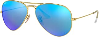 Best original aviator mirrored sunglasses rb3025 58 Reviews