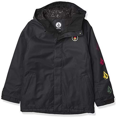 Volcom Westerlies Insulated Jacket Chaqueta aislada, Negro, XS para Niñas