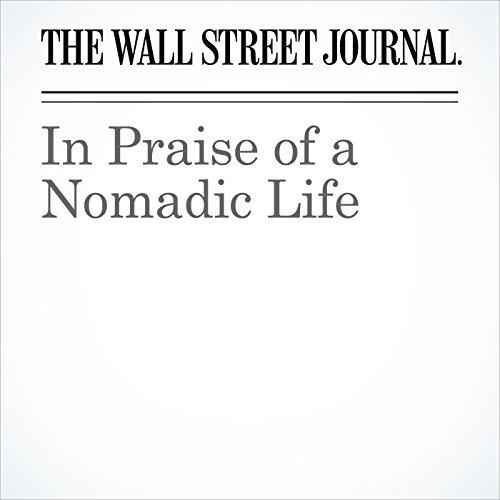 In Praise of a Nomadic Life copertina
