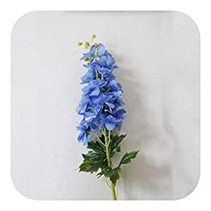 MEIshop 80CM Artificial Flower Latex Delphinium Wedding Decoration Christmas Family Party Living Room Home Accessories