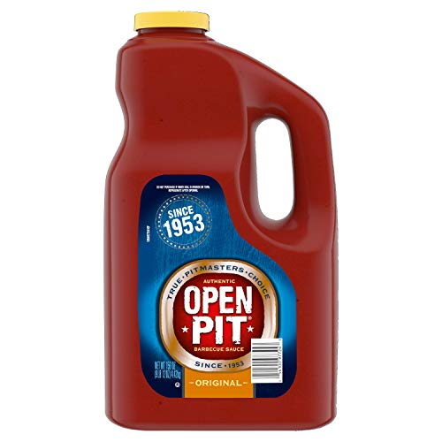 Open Pit Barbecue Sauce Original 156oz Jug For Just $5.68-$6.35 Shipped From Amazon After $10 Price Drop