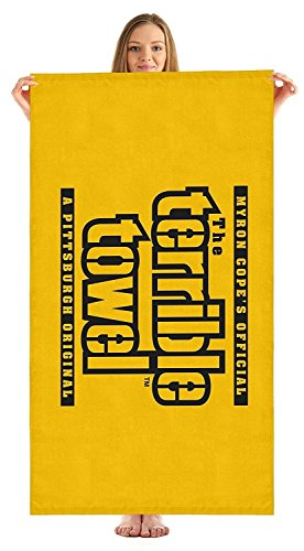 Pittsburgh Steelers NFL Terrible Beach Towel Myron Cope Official Towel 30