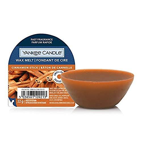 Yankee Candle cialde di cera profumate Wax Melt | Bastoncino di cannella | Durata della fragranza: fino a 8 ore | 1 pezzo