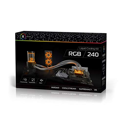 EK Water Blocks EK-KIT RGB 240 Videokarte, Schwarz