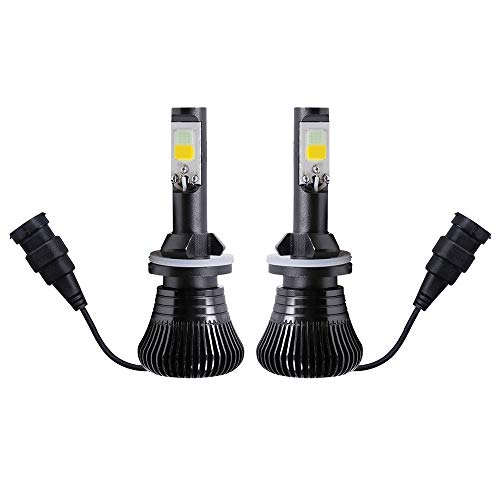 replacement bulb for fog lights 1797 LED 880 881 Fog Lights Bulb Ice Blue 8000K Strobe Flicker Daytime Running Lights DRL Lamps for Trucks Cars Kit Plug Replacement Bulbs 12V 30W 2800LM Super Bright COB Chips Pack of 2