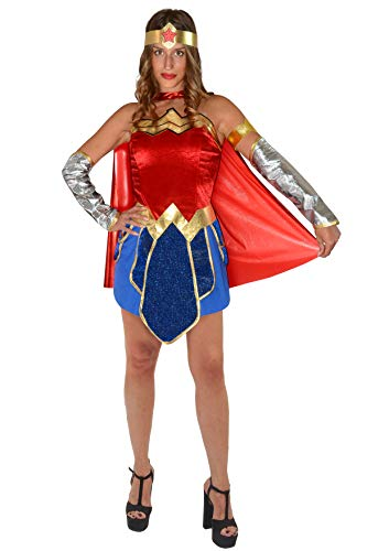 Wonder Woman costume donna originale DC Comics (Taglia S)