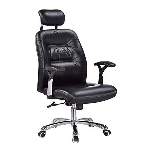 ZXN RTU Relax Sillón ejecutivo de masaje reclinable, silla giratoria de oficina, respaldo alto, asiento grande, silla de juegos