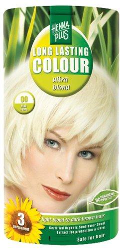 Hennaplus - 49130 Long Lasting Colour - Coloration longue durée - 00 Ultra Blond