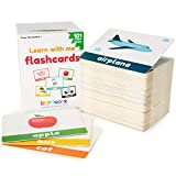 learnworx Toddler Flash Cards - 101 Baby Flash Cards - 202 Sides - Learn Objects, Numbers & Play Games - Toddler Learning Educational Toys - 12 Months to 3 Years